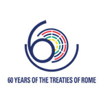 Italian logo for the 60th anniversary of the Treaties of Rome